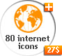 80 Animated Internet Icons - VideoHive Item for Sale